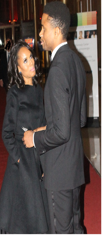 Picture of Kerry washington and husband Nnamdi